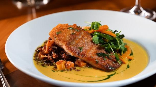 King Salmon from Carthay Circle Restaurant at Disney California Adventure Park