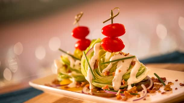 Wedge Salad from Wind and Waves Grill at Disney's Vero Beach Resort