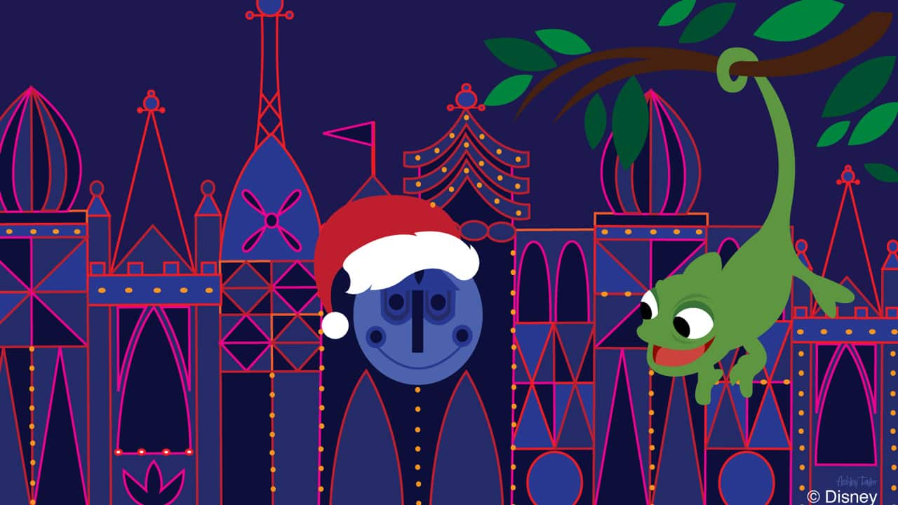 Disney Doodle: Readers Vote 'Pascal' As The Star of Our Christmas Day Doodle