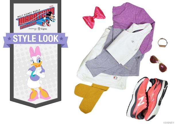 Celebrate 20 Years of runDisney Walt Disney World Half Marathon with Donald Duck and Daisy Duck-Inspired Looks