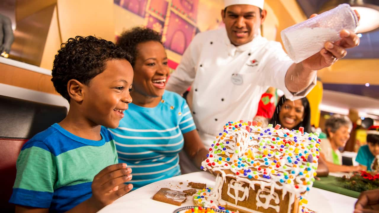 Disney Magic Wins Third Annual Gingerbread House Competition