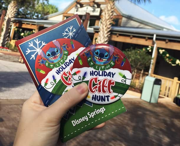 Stitch's Holiday Gift Hunt at Disney Springs