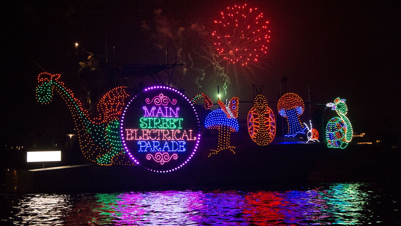 Main Street Electrical Parade Makes a Splash at 108th Newport Beach Christmas Boat Parade