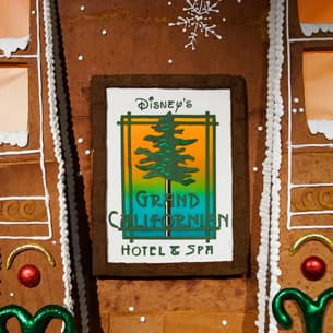 Gingerbread House at Disney's Grand Californian Hotel & Spa at the Disneyland Resort