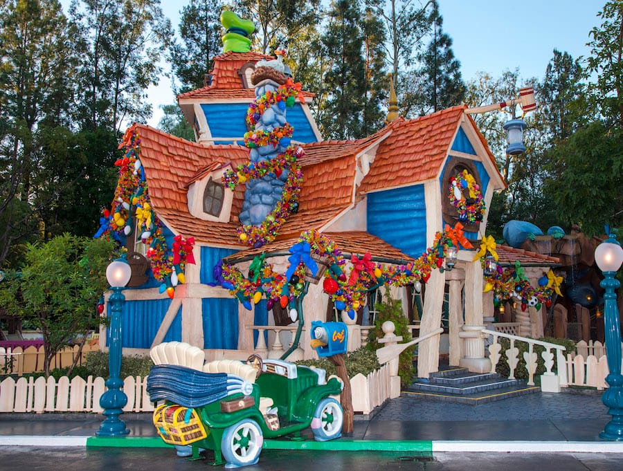 Holidays in Mickey's Toontown at Disneyland Park