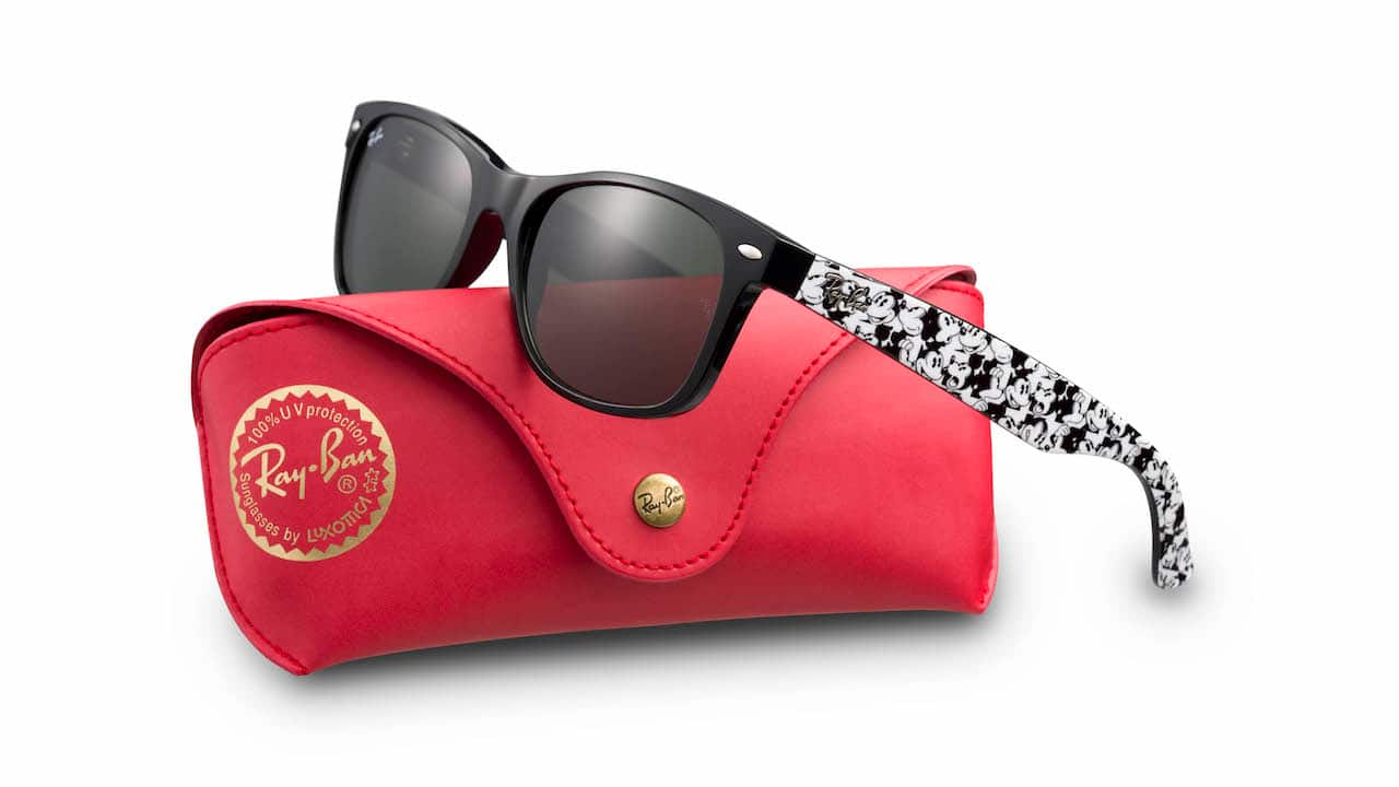 e470bf7f89eb9 Ray-Ban Sunglasses Featuring Mickey Mouse Debut Just in Time for the ...