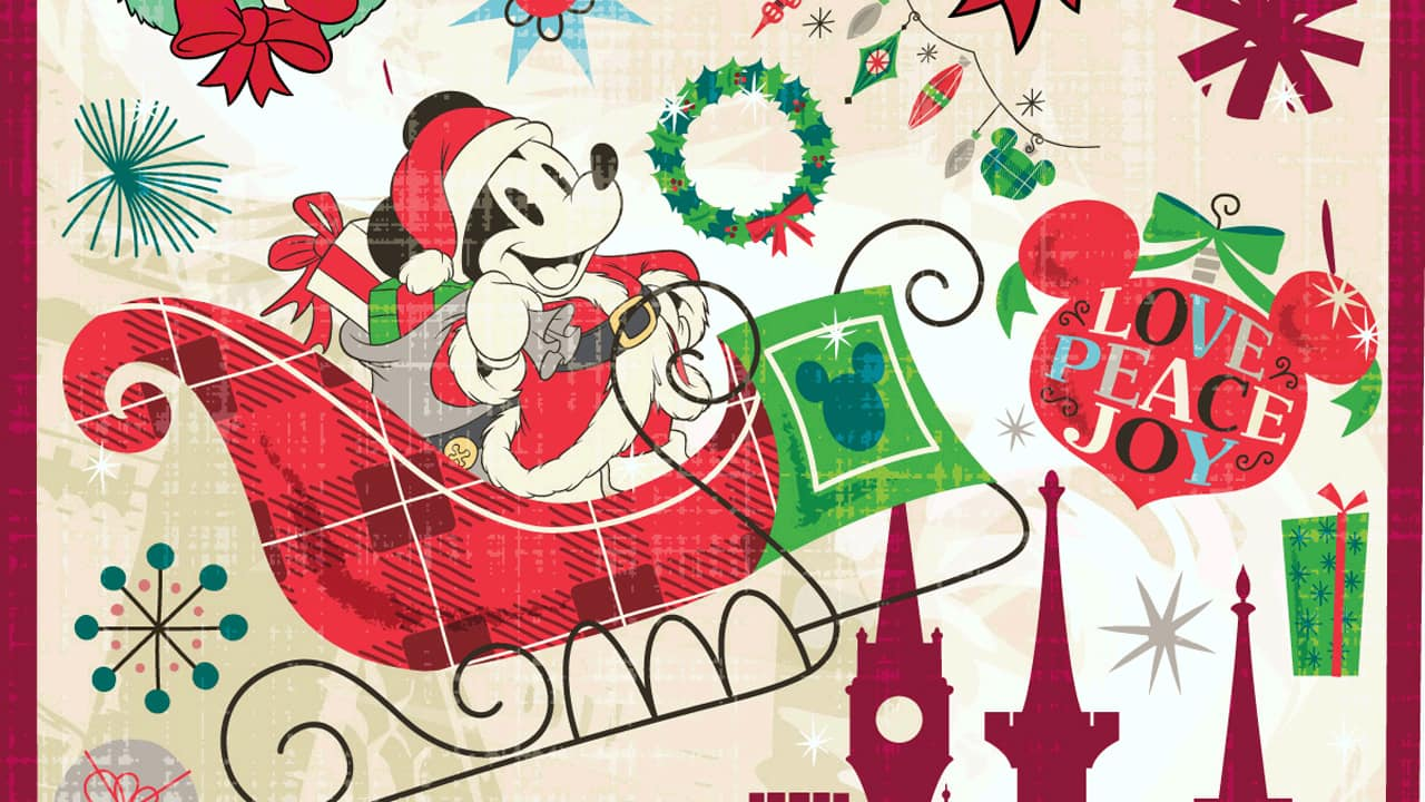 Disney Christmas Pictures.Disney Christmas Wallpapers 1080p