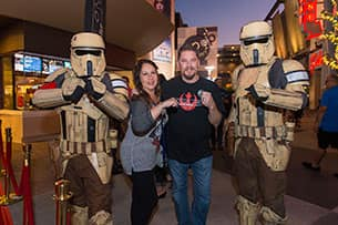 Hundreds of Disney Parks Blog Readers Celebrate The Opening Of Rogue One: A Star Wars Story at Disney Springs