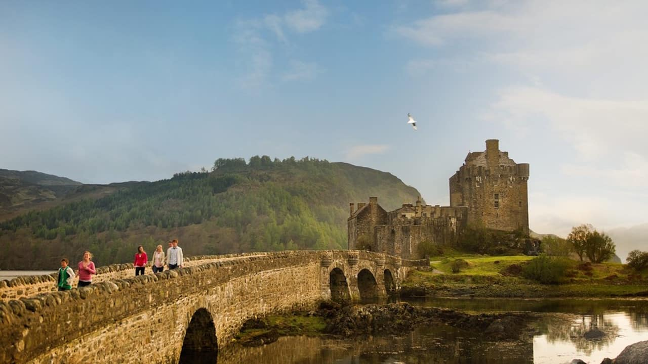 Private group experience with Adventures by Disney in Scotland