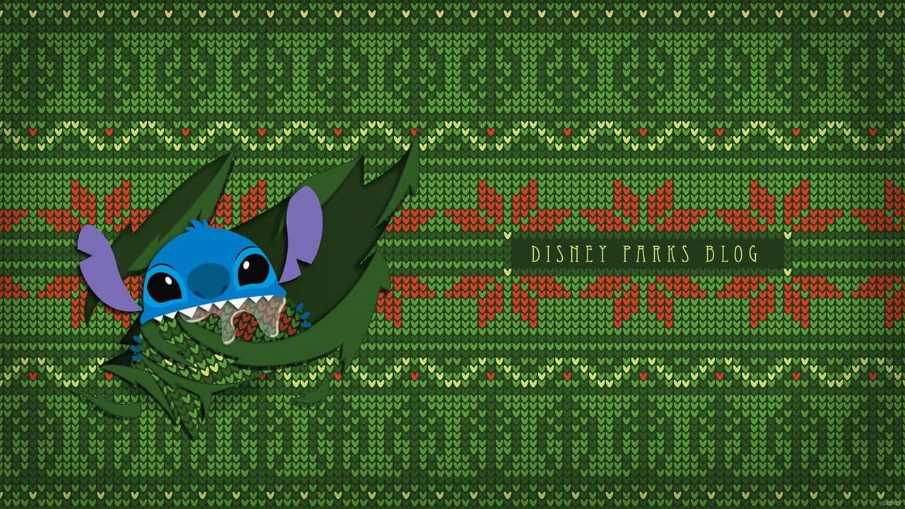 Walt Disney Christmas Wallpaper.Download Our Ugly Christmas Sweater Inspired Wallpaper