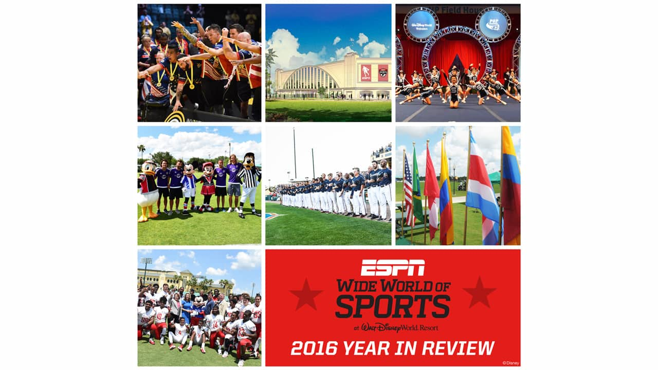 ESPN Wide World of Sports Year In Review
