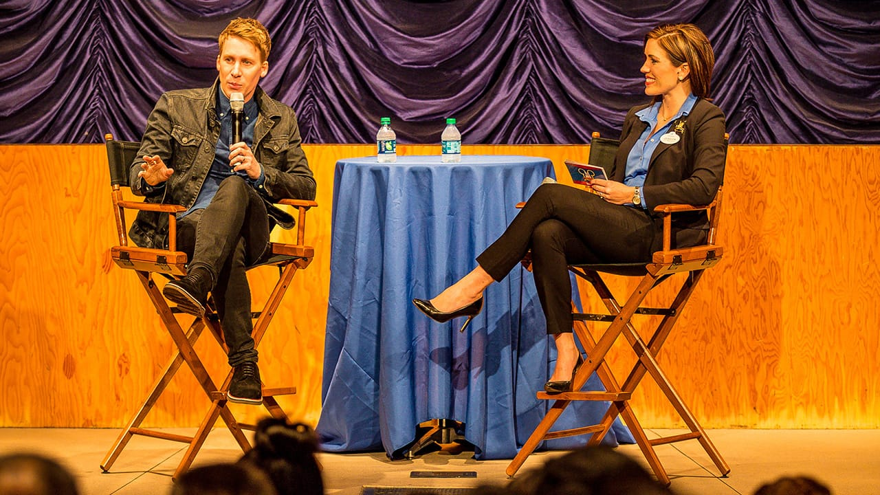 Disneyland Resort Cast Members Chat with Academy Award Winner® and Social Activist Dustin Lance Black About 'When We Rise,' Premiering February 27 on ABC