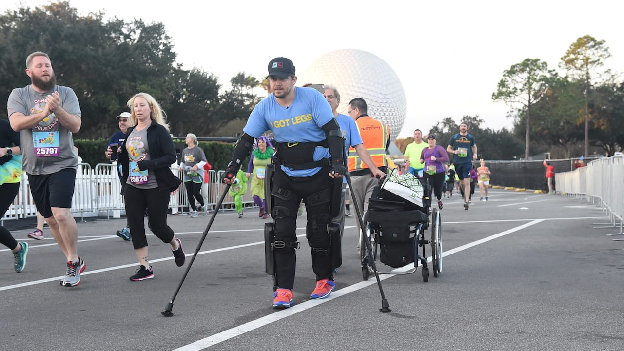 Paraplegic Runner Defies All Odds at Walt Disney World Marathon Weekend