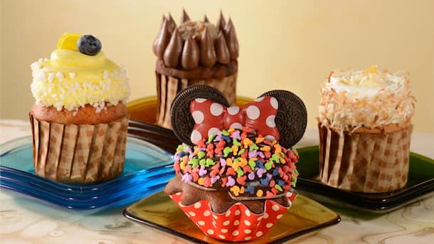 Specialty Sweet treats from the Grand Floridian Bakery Found at Gasparilla Island Grill