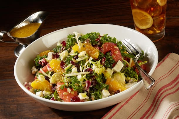 Citrus Kale Salad from Planet Hollywood Observatory at Disney Springs