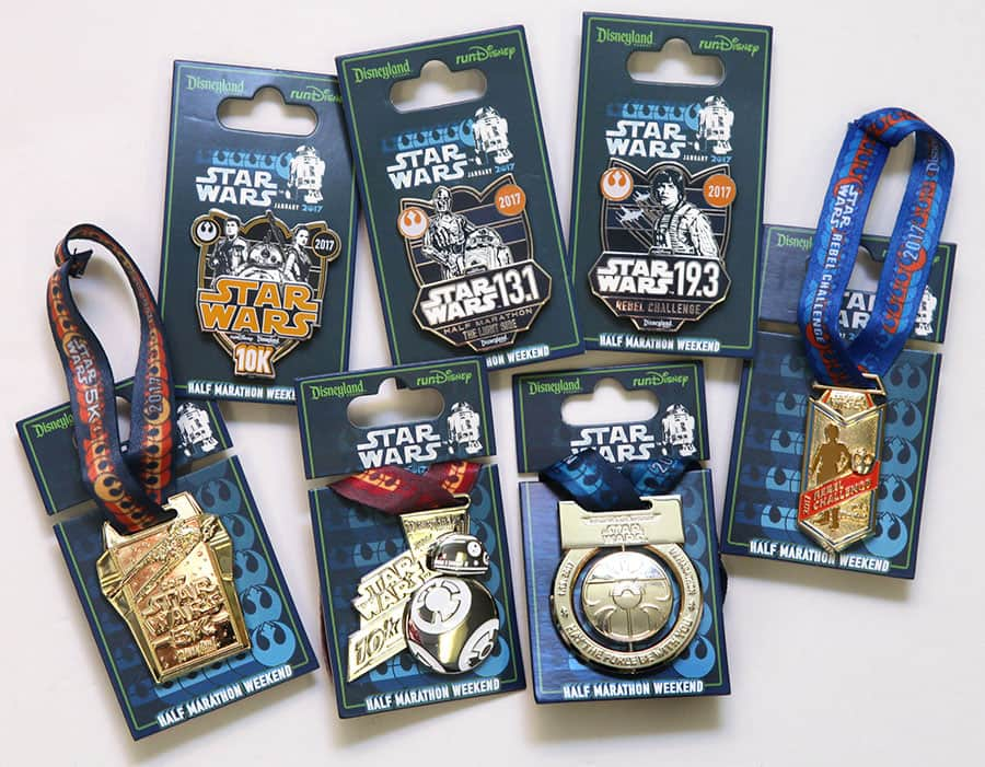 The Force Is Strong with New Products for Star Wars Half Marathon – The Light Side at Disneyland Resort