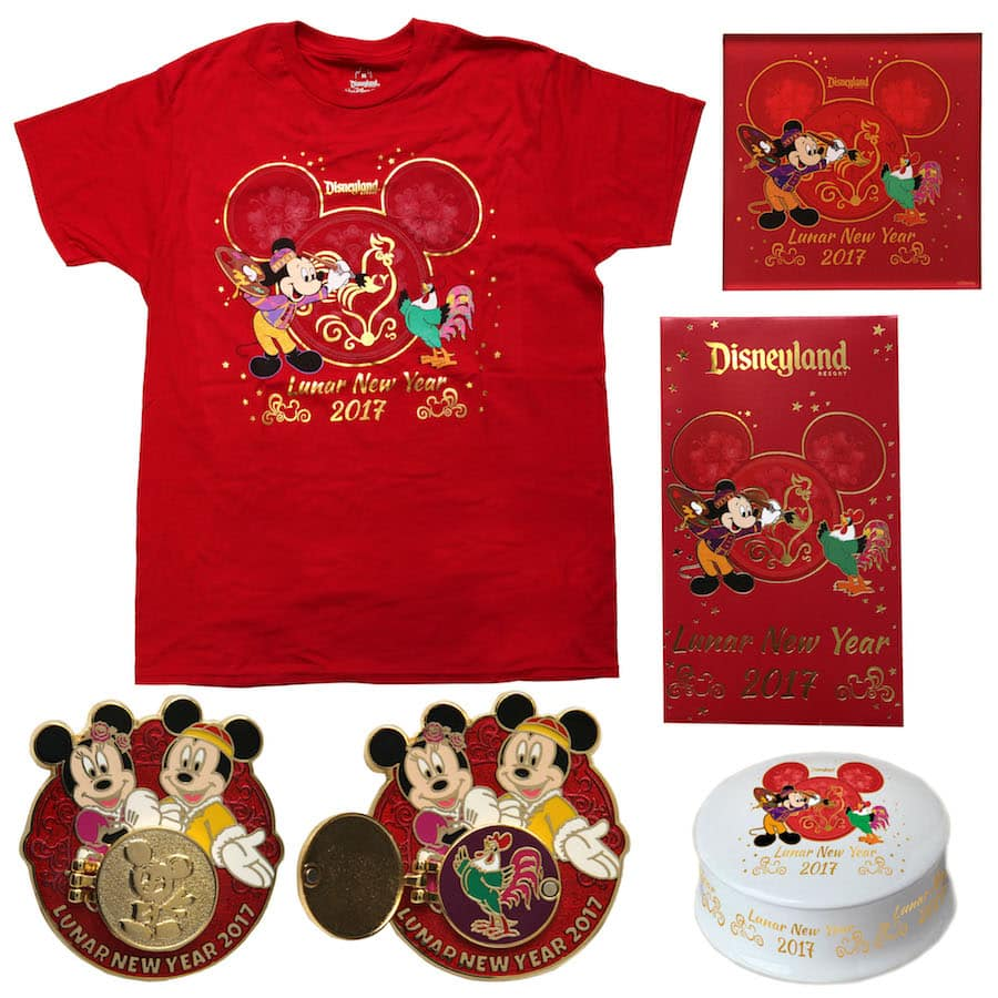 Celebrate Lunar New Year 2017 with New Products Coming to Disney California Adventure Park
