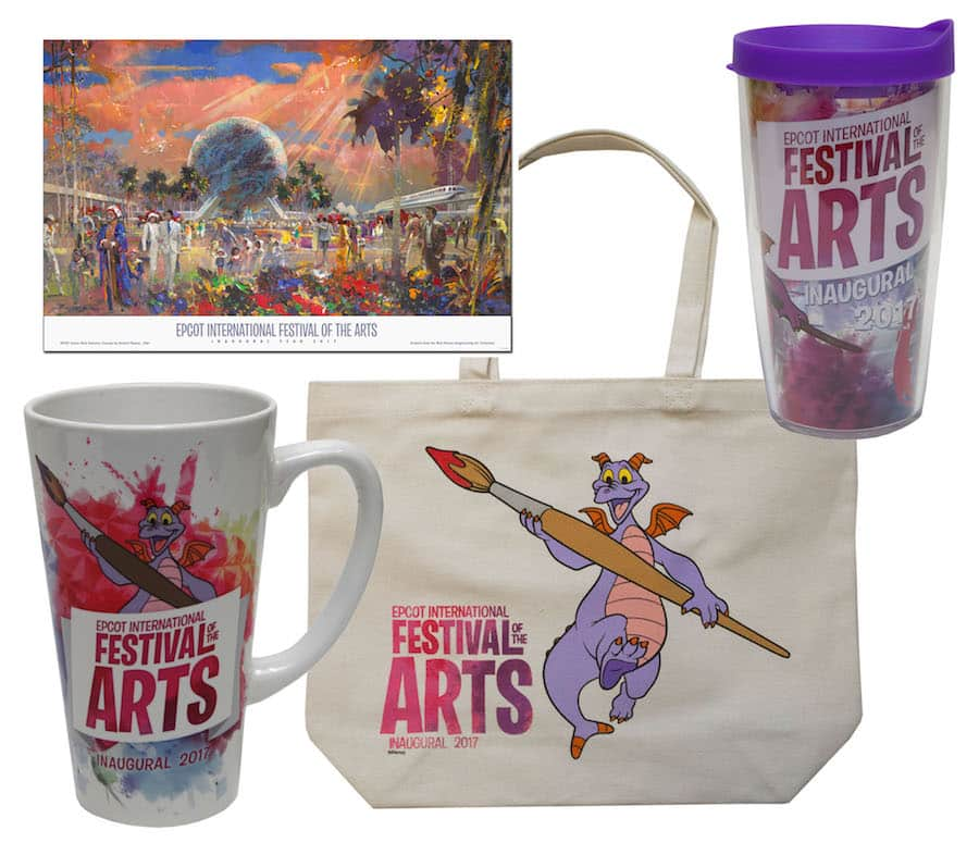 Commemorative Merchandise for Epcot International Festival of the Arts
