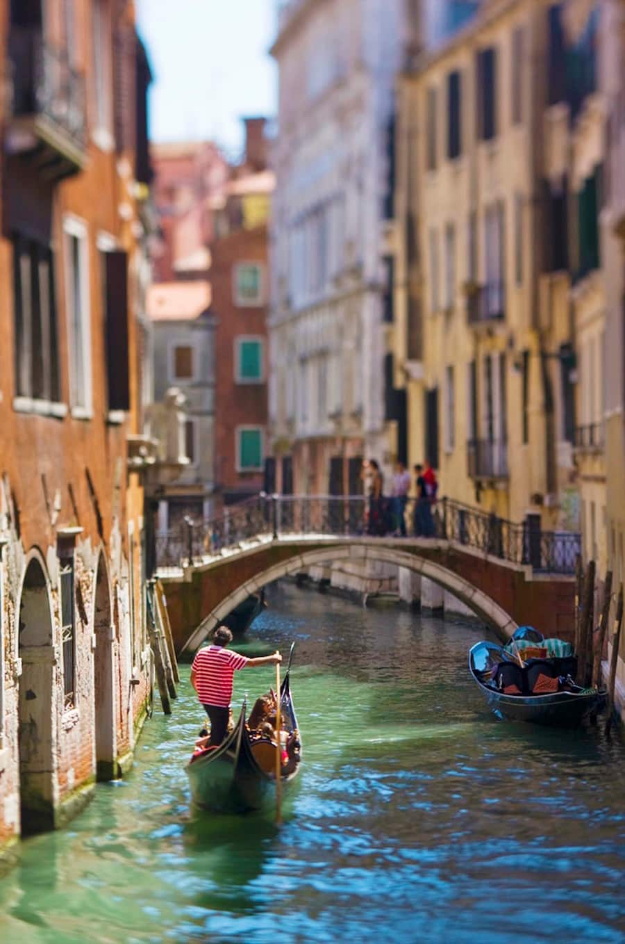 Italy tour through canals on Adventures by Disney vacation