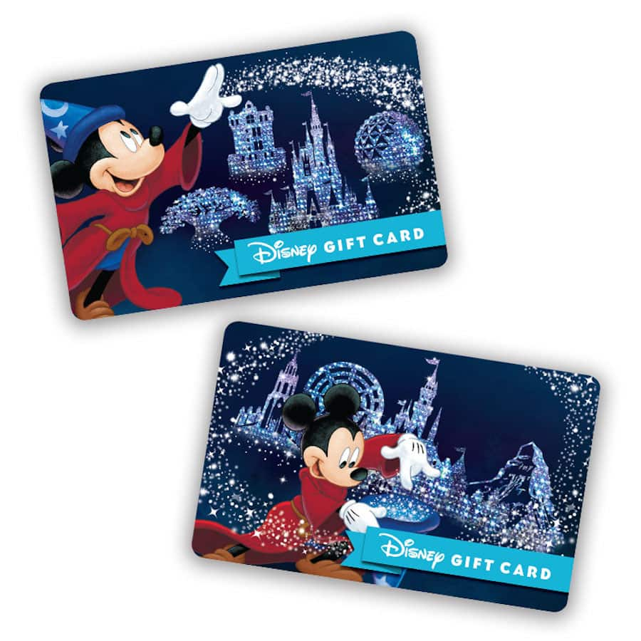 Make 2017 Shine with New Park-Themed Disney Gift Cards