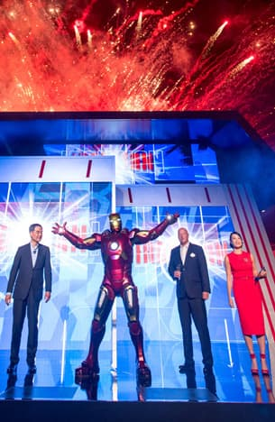 Iron Man Experience, Disney Parks' First Marvel-Themed Ride, Opens at Hong Kong Disneyland