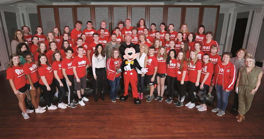 Country Stars Little Big Town Surprise Ohio Students at Disney Performing Arts Workshop