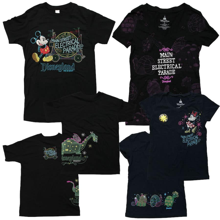 Electrifying New Products Celebrate Return of Main Street Electrical Parade to Disneyland Park