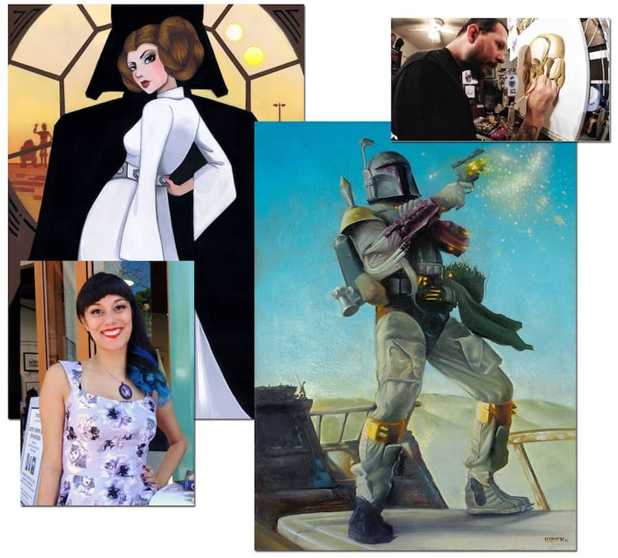 Meet Steven Daily and Leilani Joy at WonderGround Gallery in Downtown Disney District at the Disneyland Resort on Jan. 14
