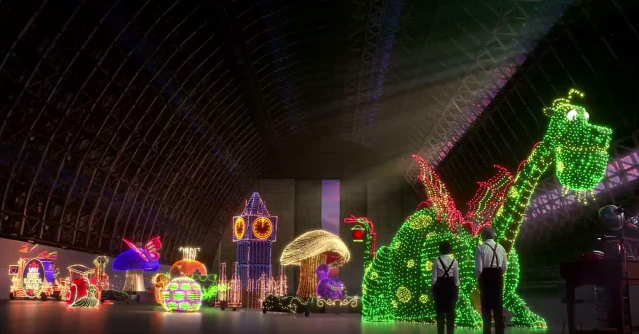 Disneyland Resort Fans are Enchanted with New Main Street Electrical Parade Television Spot