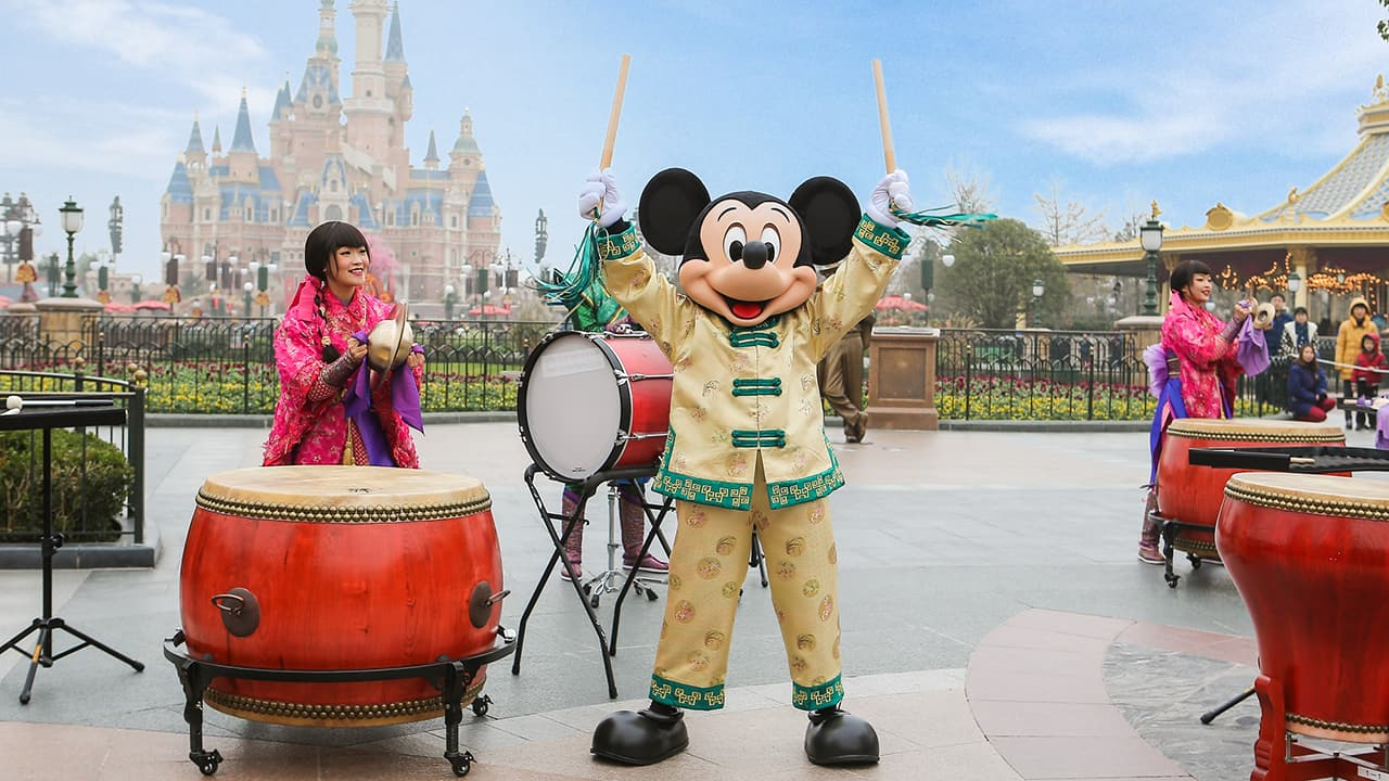 It's a Lucky Morning at Shanghai Disney Resort During Chinese New Year