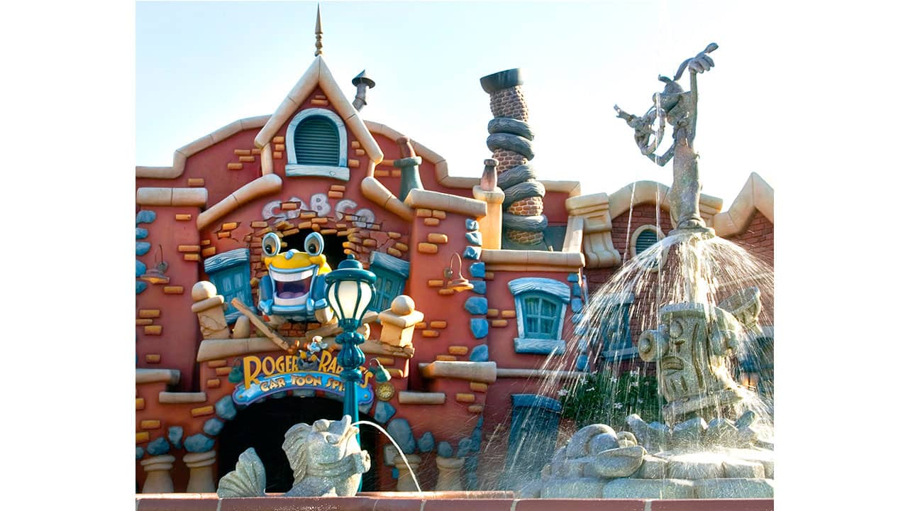 From Screen to Park: Roger Rabbit's Car Toon Spin at Disneyland Park