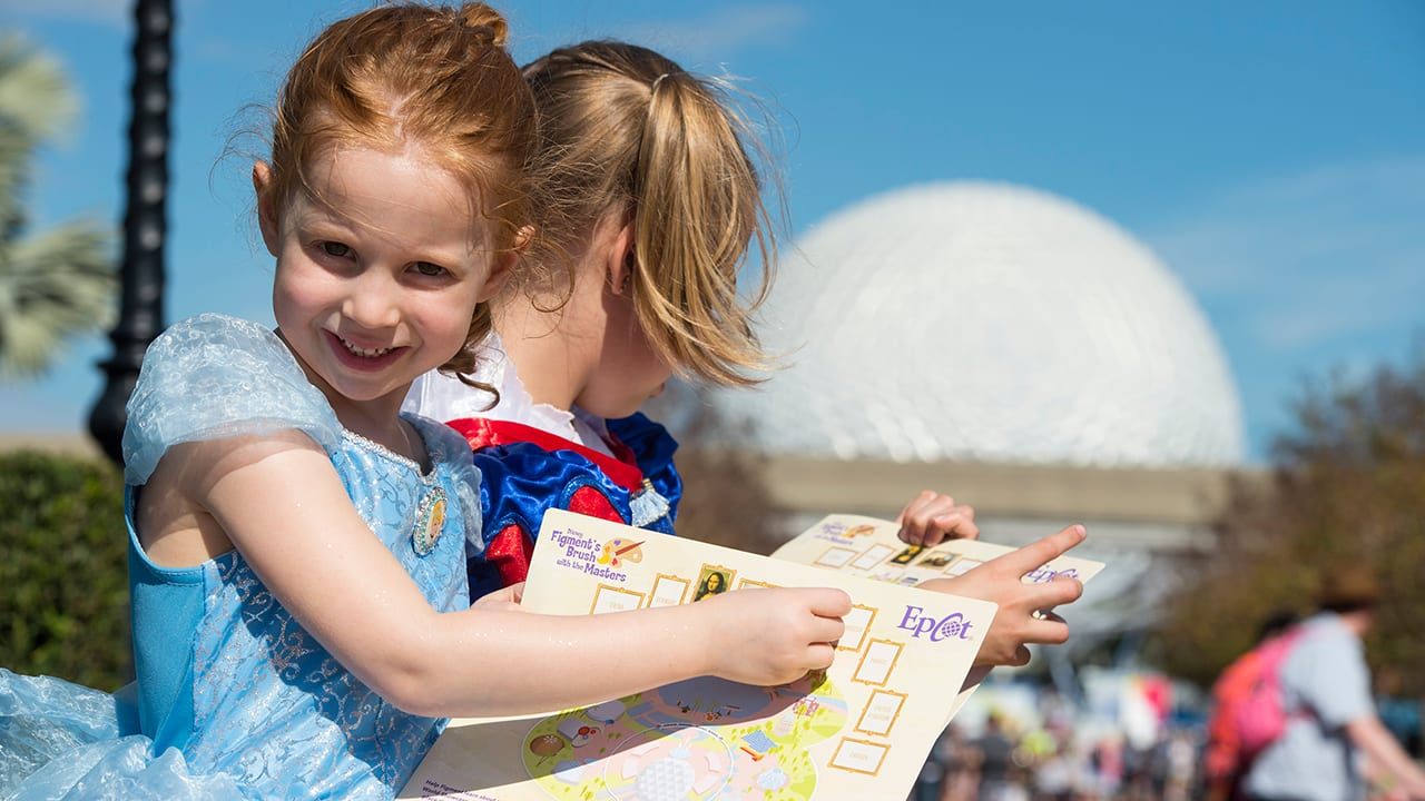 Figment Leads Kids on Artsy Adventure Around the 'World' During Epcot International Festival of the Arts