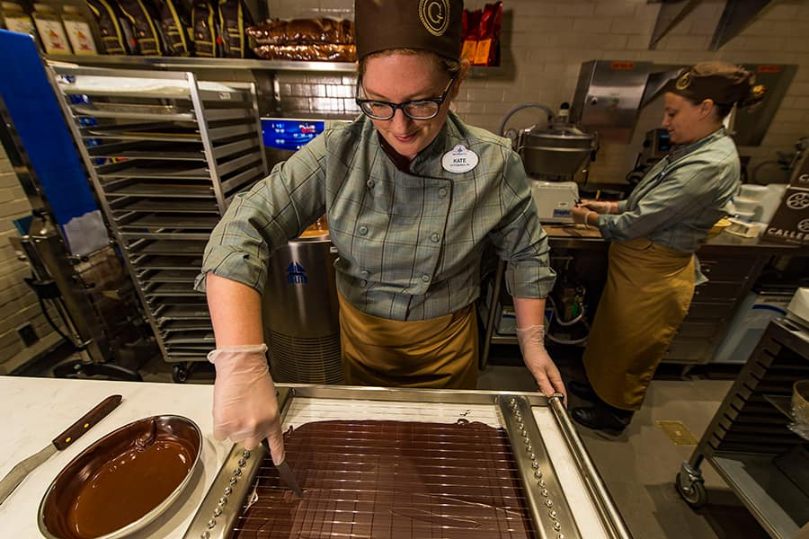 #ArtfulEpcot Series: Creating Art With Chocolate