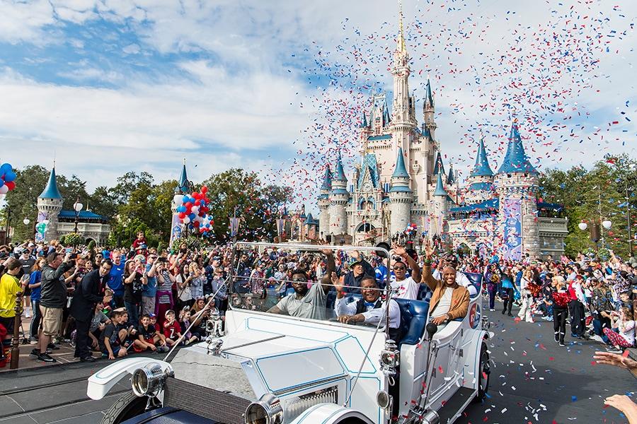 NFL Stars Participate in Special Pro Bowl Parade at Walt Disney World Resort 068dd1050