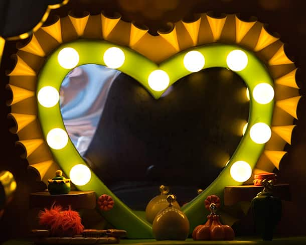 Love is in the air in Mickey's Toontown at Disneyland Park