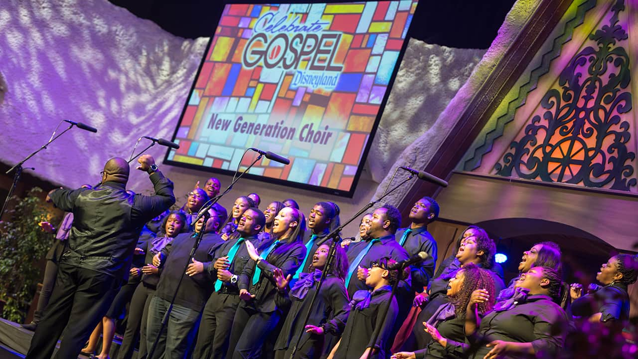 Music to Our Ears: 'Celebrate Gospel' Returns to the Disneyland Resort February 18