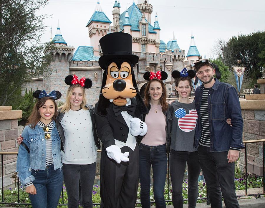 'Downton Abbey' Stars Reunite at the Disneyland Resort