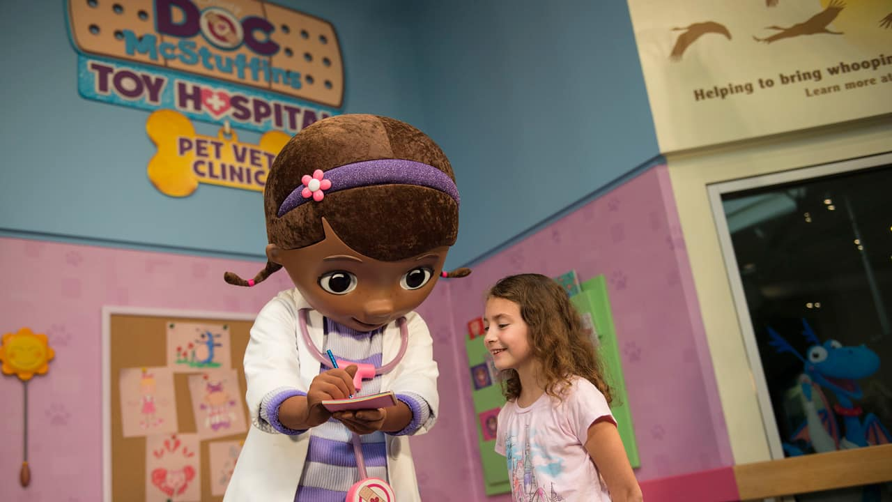 Doc McStuffins Makes Her Debut at Disney's Animal Kingdom Park