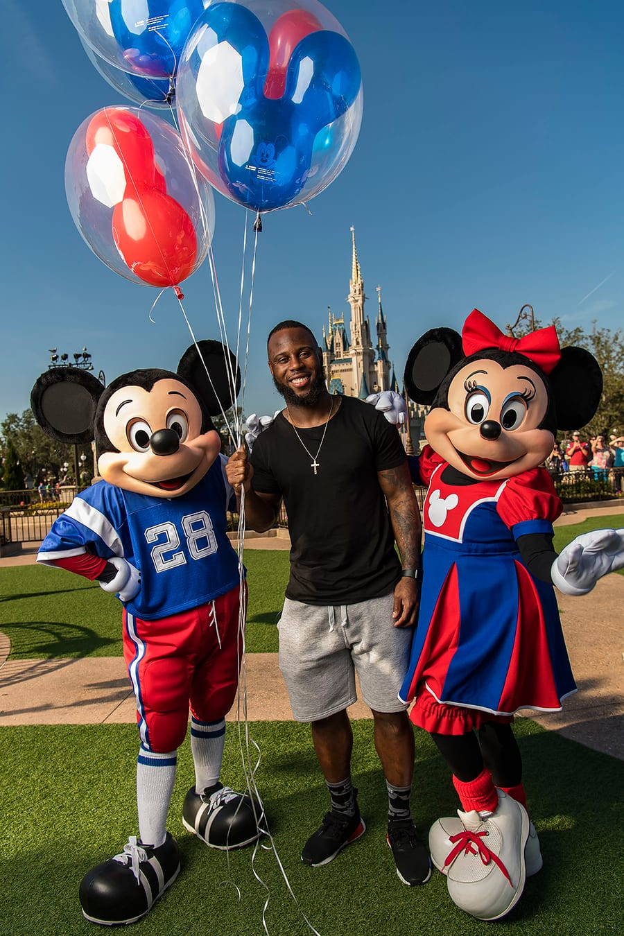 Super Bowl Hero James White Marks 30th Year of Disney's Super Bowl Tradition