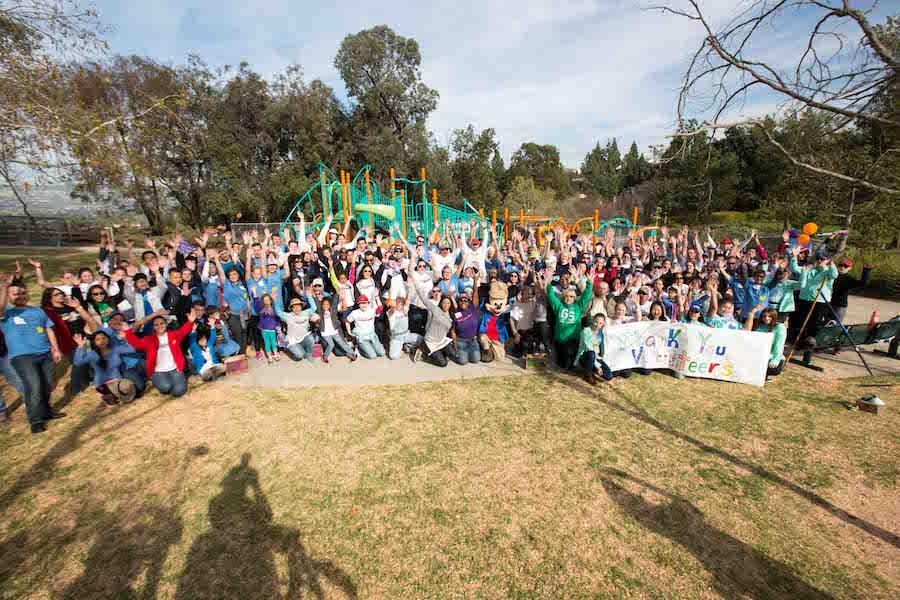 Anaheim Playground Transforms into New, Disney-Sponsored KaBOOM! Playground in Fewer Than Eight Hours