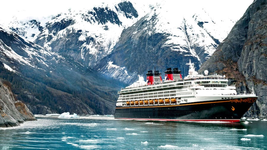 Disney Wonder Visits Alaska