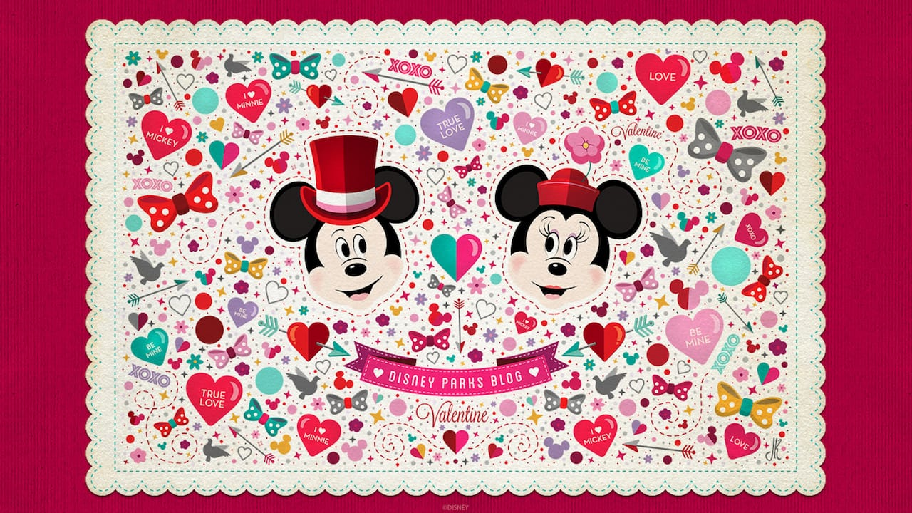 Celebrate Valentines Day With Our Latest Disney Parks