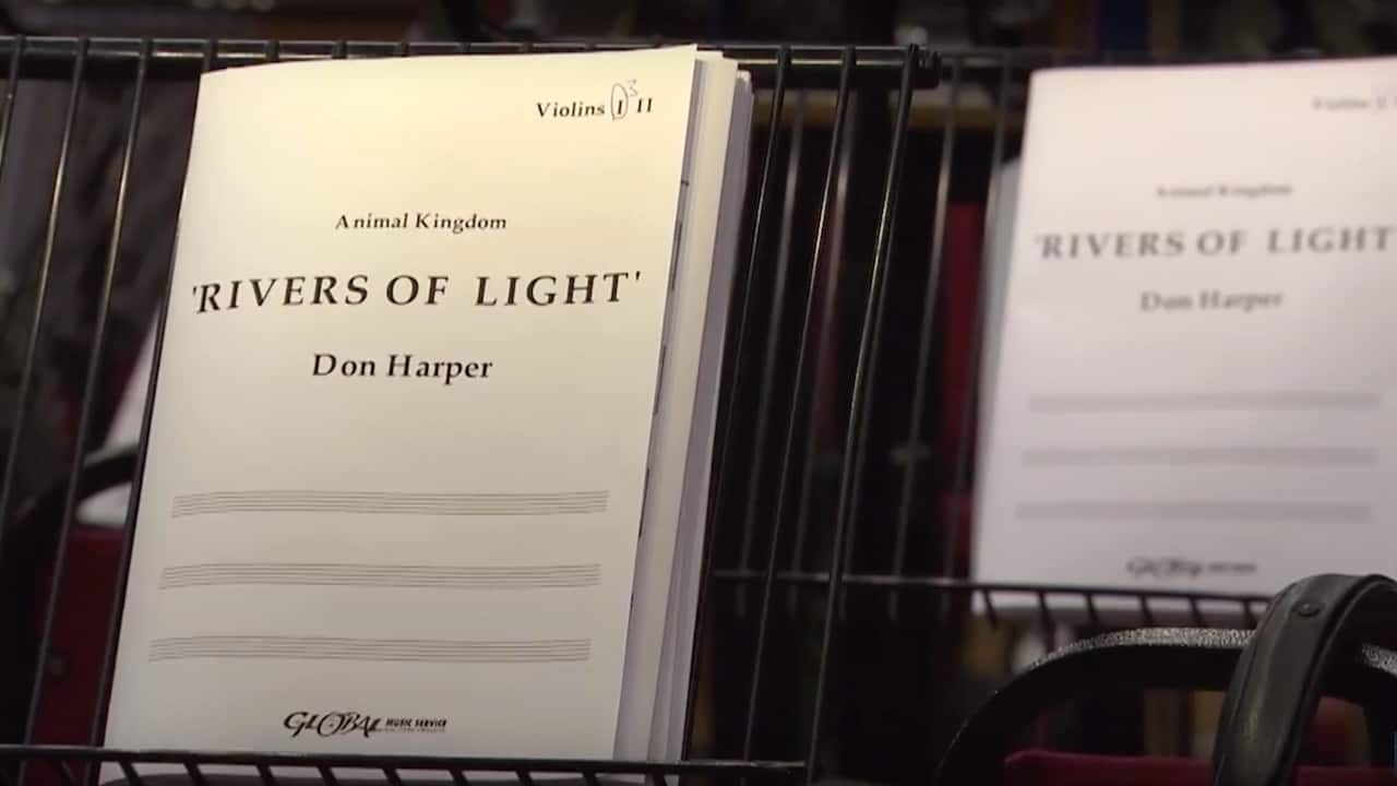 Behind the Scenes: Inside the 'Rivers of Light' Music Recording Session