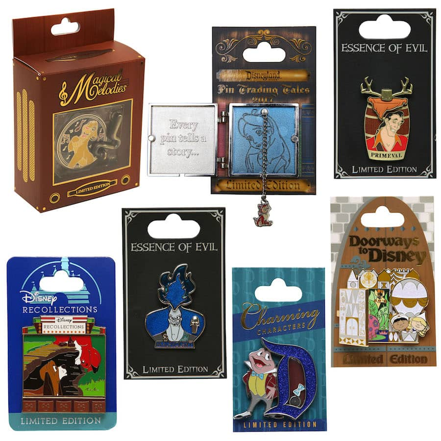 Disney Parks Blog Unboxed – New Pins to Collect or Trade in 2017 at Disney Parks