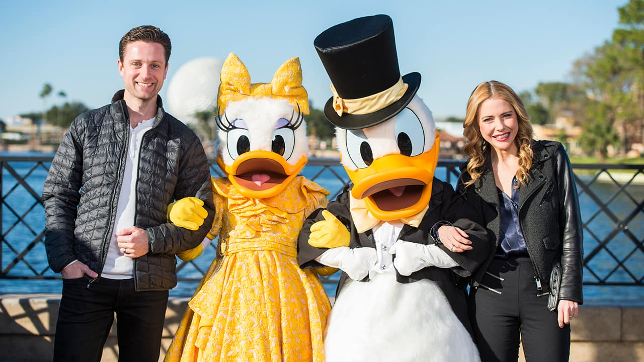 #ArtfulEpcot Series: Q&A with Broadway Stars Kerry Butler and Kevin Massey