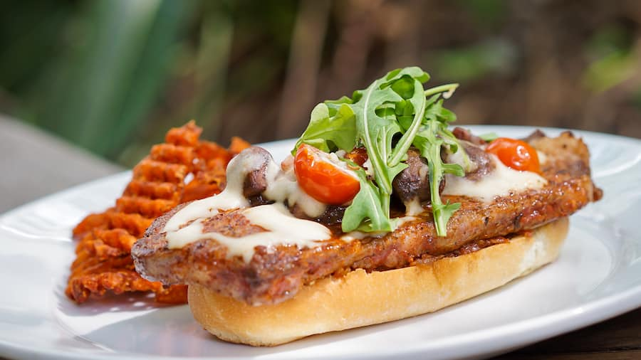 Steak Sandwich from Cafe Orleans