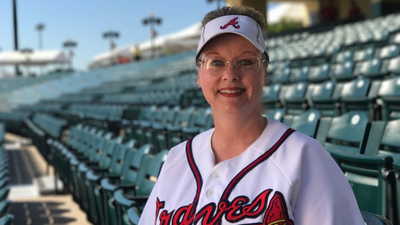 Braves Super Fan Finds Magic in the Stands while Attending 20 years of Spring Training Games at ESPN Wide World of Sports Complex