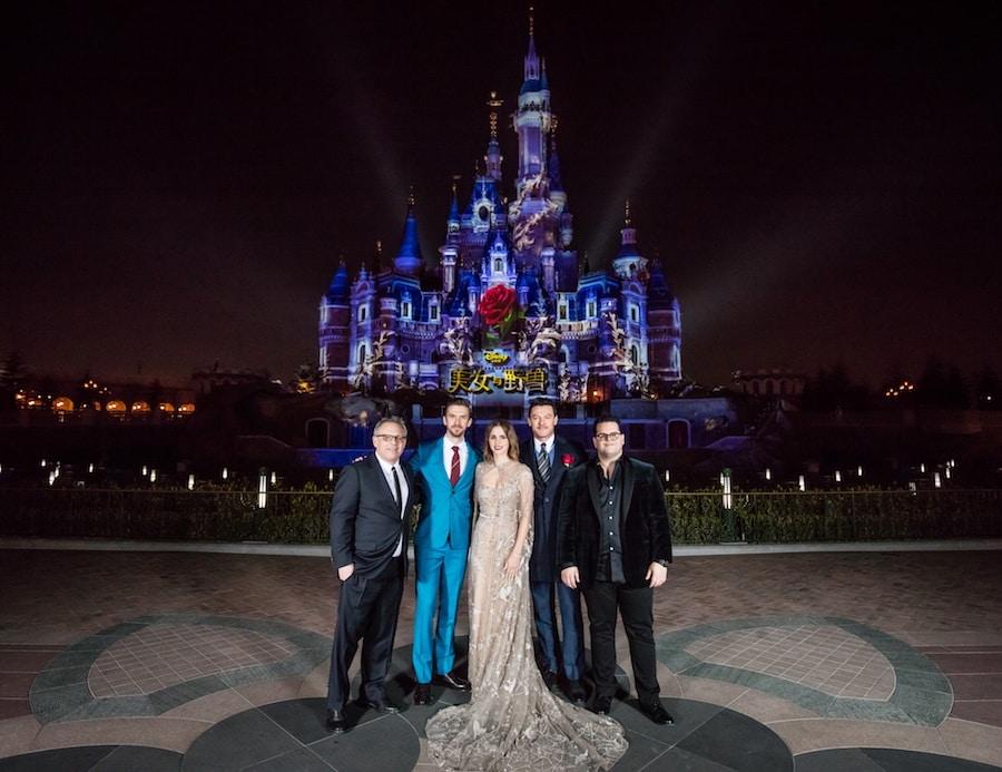 Disney's 'Beauty and the Beast' Premieres at Shanghai Disney Resort's Disneytown