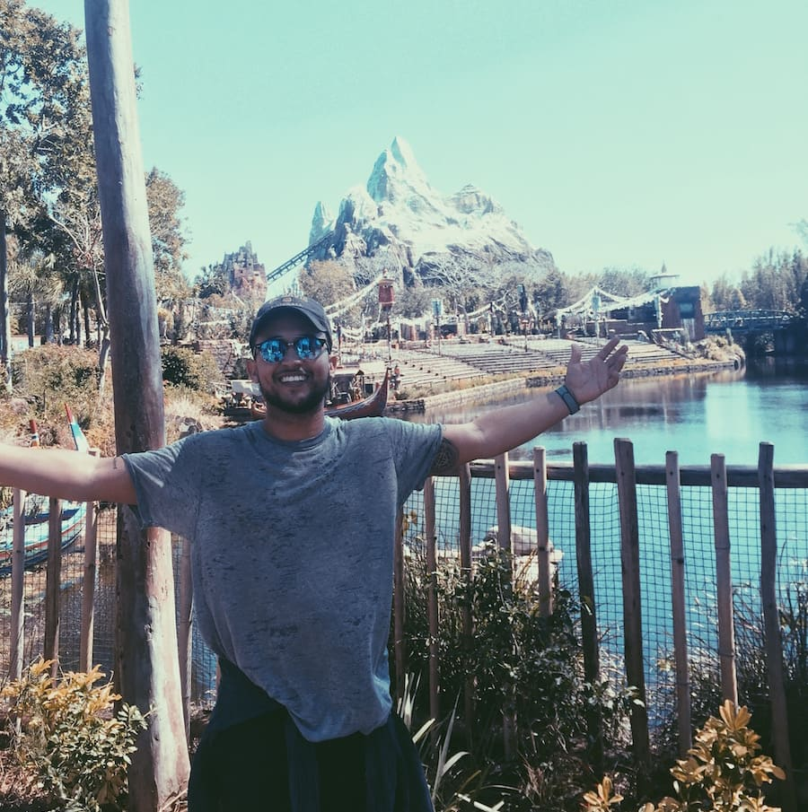 Freeform Star Tahj Mowry Had a Wild Time at Disney's Animal Kingdom
