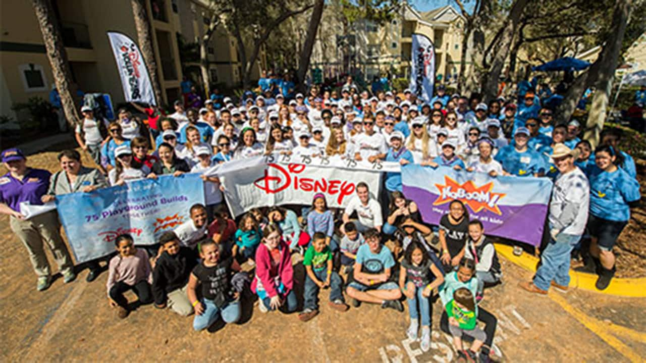New Disney-Sponsored KaBOOM! Playground Built in Central Florida Community